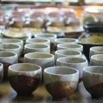 焼きたての陶器が出来上がりました。