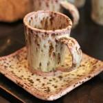 桜色のコーヒーカップ