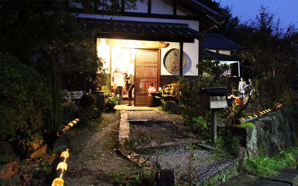 秋の成竹窯キャンドル展