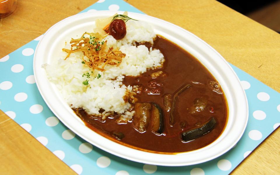 食事会(ヒグチのカレー)