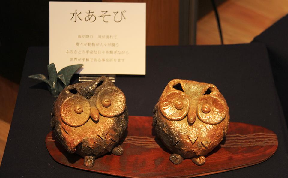 明日19日は、「吾稜展」最終日です。