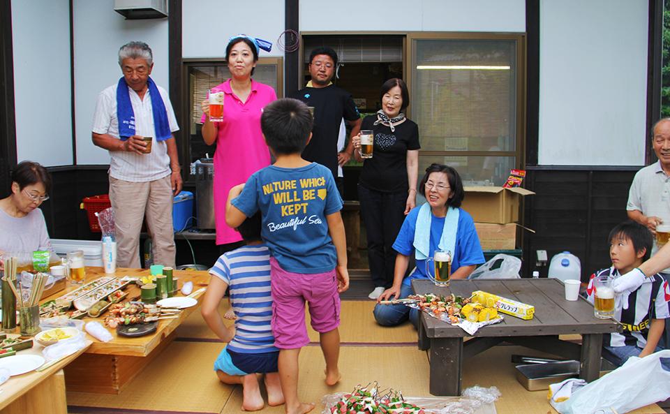 成竹窯の夏フェス