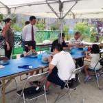 陶芸教室&無料体験(アートと雑貨の庭展)