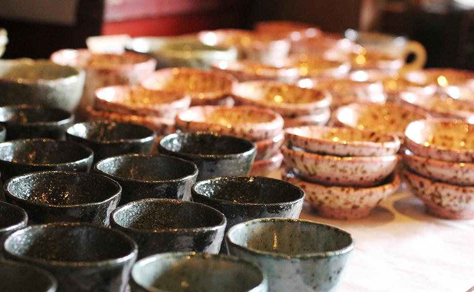 成竹窯は、作って焼いてのフル稼働